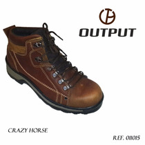 Coturno Crazy Horse Output Boots / Tênis