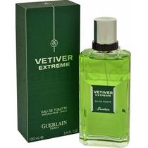 Perfume Vetiver Extreme Guerlain Eau Toilette Mascul. 100ml