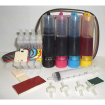 Sistemas Continuos Para Epson 4 Colores Sin Chip Con Tinta