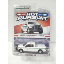 Greenlight Hot Pursuit Camioneta 2015 Ford F-150 Blanco