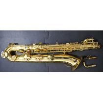 Saxofone Baritono Jz Novo! Montado Nos Eua! La Grave!!