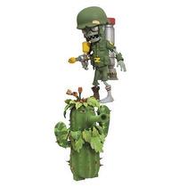 Plants Vs Zombies Acción Figura 2 Pack - Cactus Chile Y Sold
