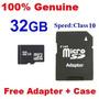 Cartão Micro Sd Sdhc Tf Memory Card 32 Gb