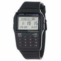 Relógio Casio Dbc-32 Databank 25 Fones Calcula 5 Alarmes Bor