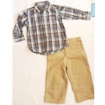 Conjunto Para Niño Importados (camisa Y Pantalon)