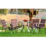 Mesa C/ 4 Cadeiras Solano Obilongo - Área Externa
