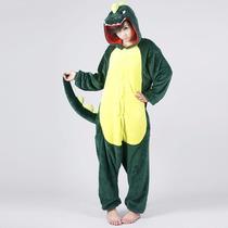Pijama Macacao Adulto - Dinossauro - Prazo 30 A 60 Dias