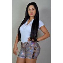 Shorts Jeans Rhero,com Bojo Levanta Bumbum