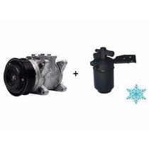 Compressor Universal Vw Santana Gol + Filtro Secador - Novo