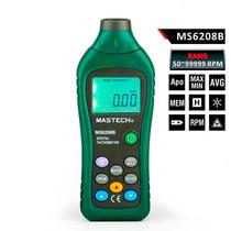 Tacómetro Digital Mastech Ms6208b Sin Contacto Con Estuche