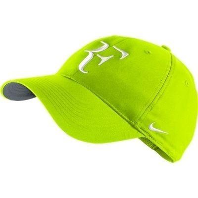 37501d7ddb457 Boné Nike Roger Federer Rf Hybrid Cor  Verde Limão - R  69