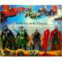 Spiderman - Hombre Araña - 4 Muñecos - Todos Los Personajes