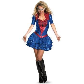 disfraz mujer arana