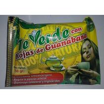 Té Verde Con Hojas De Guanábana
