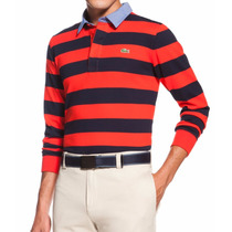 Camisa Polo Lacoste Listrada Tam M
