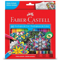 Lápis De 60 Cores Faber Castell Edição Limitada