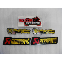 Lamina / Placa P/ Escape Two Brothers - Akrapovic Universal