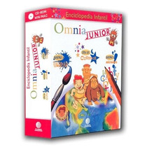 Enciclopedia Infantil Omnia Junior 4 Cds Planeta