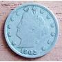 5 Centavos De Dollar 1902 Liberty Nikel Estados Unidos - Hm4