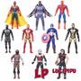 Avengers Vengadores Spider Iron Y Mas! X 10 Muñecos En Caja