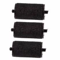 3 Rollos Entintador Etiquetadora Plastico Metalica Mx 5500