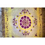 Manta Chenille + Camino De Mesa Mandala Limon