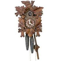 Relógio Cuco (de Madeira E Mecânico) Da Floresta Negra