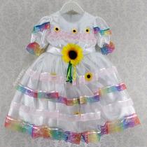 Vestido Festa Junina Noivinha Infantil Menina Noiva (cpc812)