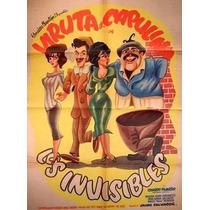 Dvd Cine Mexicano Viruta Y Capulina Los Invisibles Tampico