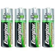 Pilas recargables energizer aa 4 pilas 2000 mah 240 - Pilas recargables aaa ...