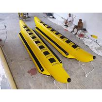 Banana Inflable Acuatica Para Playa Refozada Para 8 Personas