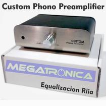 Preamplificador Phono Magnetica Riia Custom Line Tocadisco