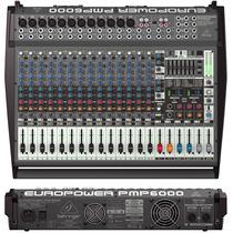 Pmp6000 Mesa De Som Amplificada Europower Behringer Pmp-6000