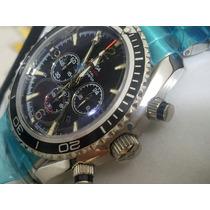 Relógio 007 Quartz Aço Omega Frete Grátis