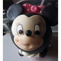 Recuerdo De Mimi, Minnie,mickey En Pasta Francesa O Flexible