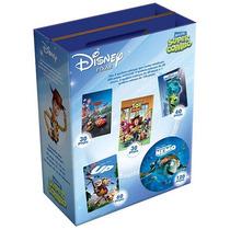 Maleta Super Combo - 5 Quebra Cabeças Disney - Toyster