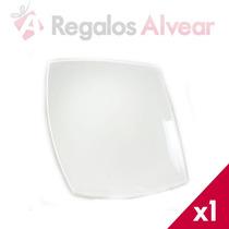 Plato Postre X1 Cuadrado Quadratto Luminarc