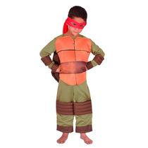 Disfraz Tortuga Ninja Miguel Angel Rafael Leonardo Donatello