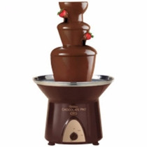Fuente De Chocolate Tres Pisos Tipo Fondue 40 Cm Para 1.8 Kg