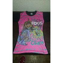 Remera De Monster Hight Niñas