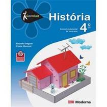 Livro Conviver História 4 º Ano - Usado - Editora Moderna