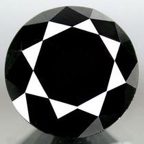 Diamante Negro 1.30 Cts Redondo 100% Natural Certificado