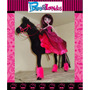 Caballo P/muñecas Barbie/monster High Draculaura Caballitos