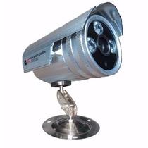 Câmera Infra Vermelho 3 Leds Ccd Sony 2000 Linhas + Fonte