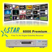 Receptor Tv Satelital Libre Fta - Modelo Star 6000 Premium