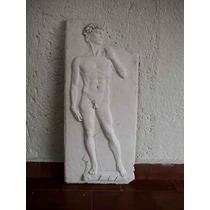 Escultura David Relieve Tipo Antiguo Directo Artista