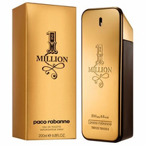 Perfume Paco Rabanne One 1 Million 200ml + Amostra De Brinde