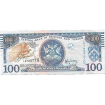 Billete Trinidad Y Tobago 100 Dolares Año 2006 Muy Bueno