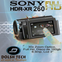 Sony Camara Video Hdr-xr260v 160gb Disco Duro 1080p 8.9mpx