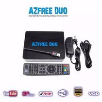 Receptor De Satélite Azfree Duo Digital Full Hd